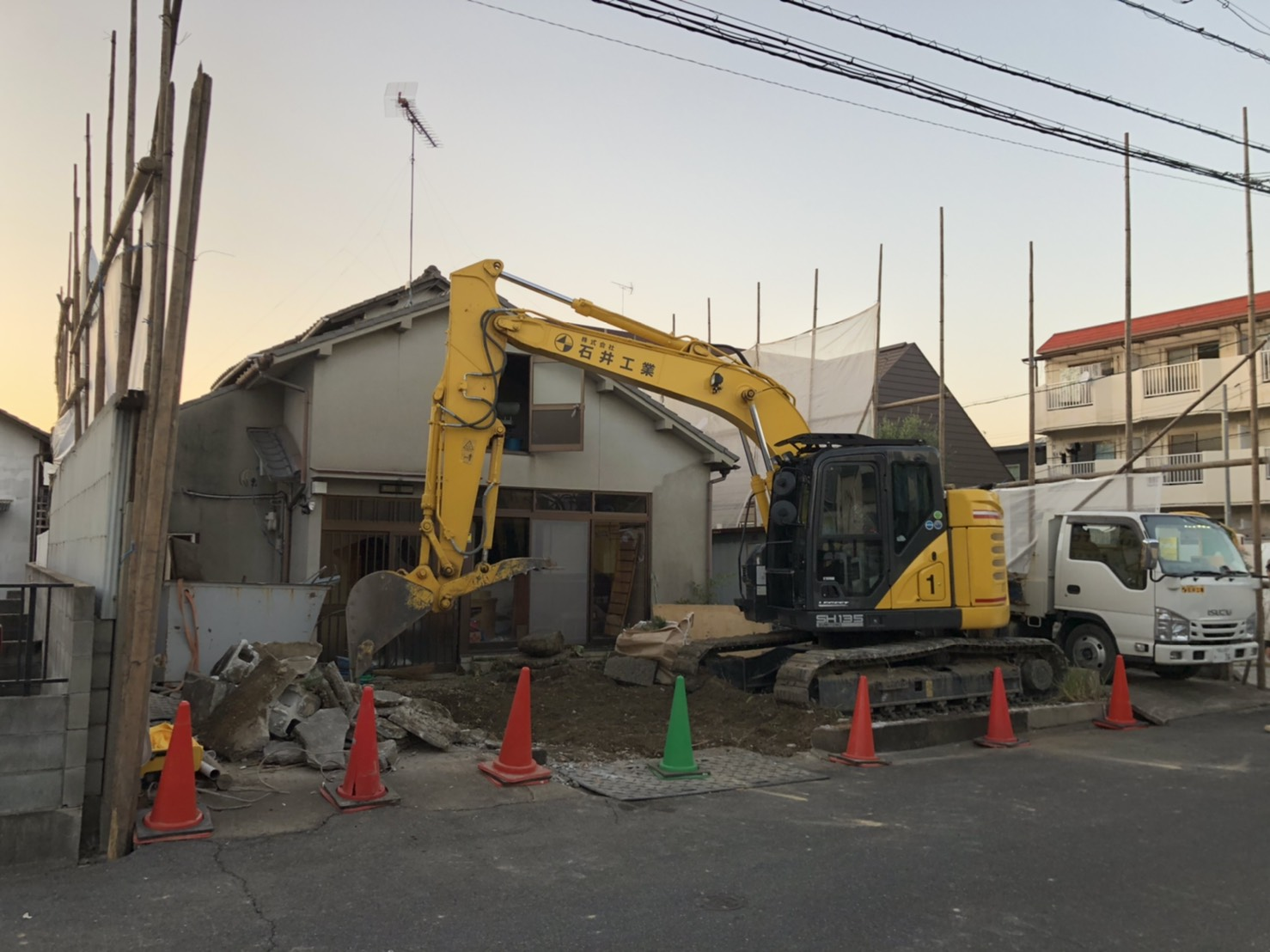 建物本体の解体